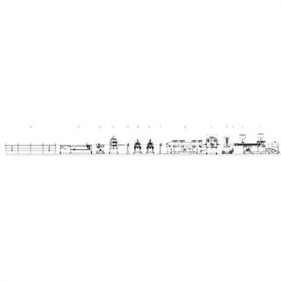供应金韦尔PVC挂壁板高速挤出生产线
