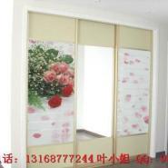 工艺玻璃装饰背景墙拼花机图片
