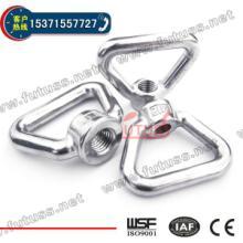 不锈钢三角螺母,不锈钢环形螺母批发