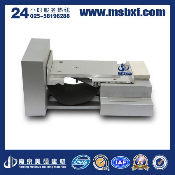 供应南京变形缝100缝宽金属卡锁型属性及安装效果图