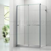 供应无框双趟方形加梗10MM淋浴房
