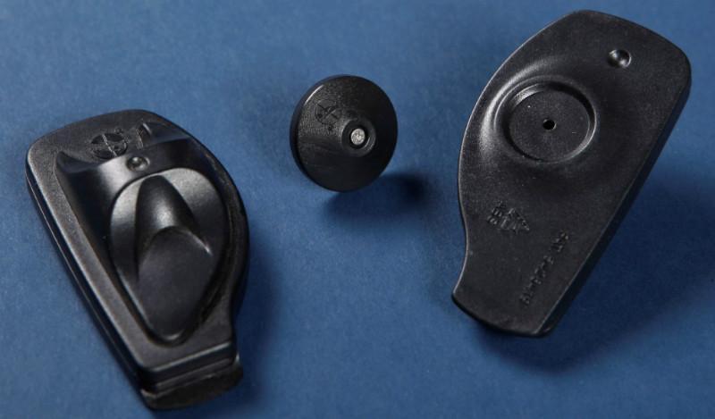 供应特殊服装防盗磁扣一次性拖鞋图片