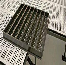 供应惠州美露地板/美露3号钢质防静电通风地板