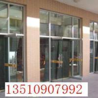 供应华强北/皇岗/园岭维修 地弹簧玻璃门/钢化玻璃隔墙