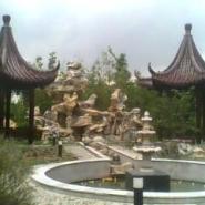 上海奉贤假山图片