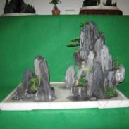 上海里有室内假山卖图片