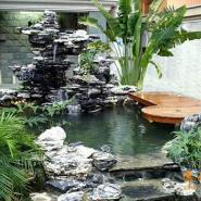 上海别墅英石假山制作图片