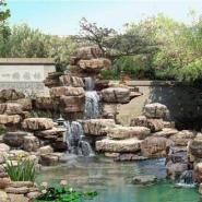 上海宝山区哪里的别墅花园假山最便图片