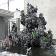 浙江平湖哪里的庭院英石假山最好图片