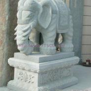 闸北石大象图片