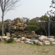 上海六灶庭院假山图片图片