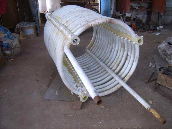 供应钢衬四氟盘管生产厂家
