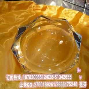 平凉水晶烟灰缸摆件制作图片
