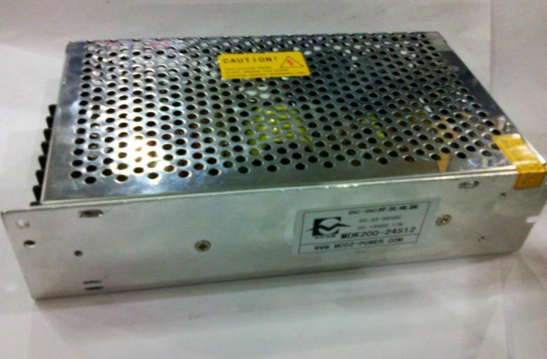 供应24V转12v20A开关电源厂家DC-DC250W