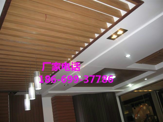 供应150生态木外墙波浪板