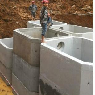 白城市预制化粪池专业生产厂家图片
