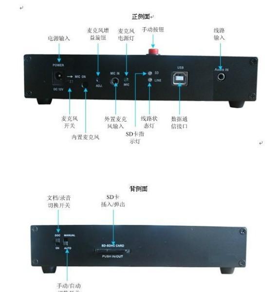 供应会议录音设备