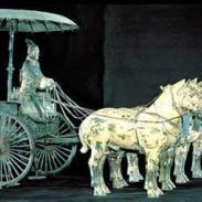 西安市最大的铜车马纪念品批发商图片
