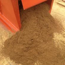 海口秀英金鸿源机械加工厂 甘蔗渣粉碎机高效半湿物料有机肥粉碎机厂 金宏牌秸秆粉碎机图片