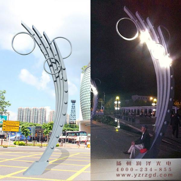 翅膀型广场led景观灯图片|翅膀型广场led景观灯样板