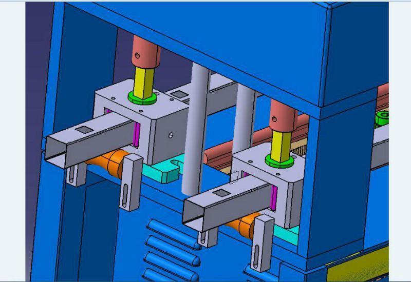 供应炬成机械厂自动液压打孔机/自动液压冲孔机厂家/自动液压冲孔机