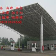四川德阳市加油站网架图片