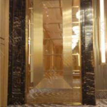 供应大堂钛金梯形不锈钢装饰包板,U型槽剪折刨槽加工厂家