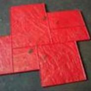 供应彩色混凝土压模地坪,压模地坪模具,透水混凝土,艺石实业