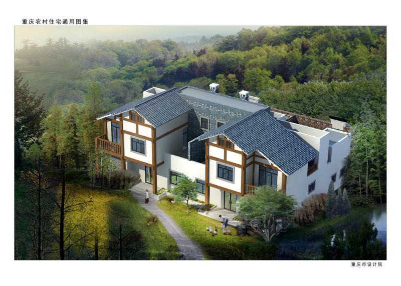 轻钢结构别墅是主要针对农民朋友开发的新型钢结构民用住宅.图片