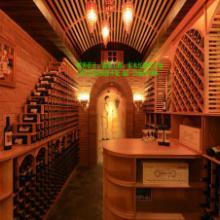 供应红酒酒架定制