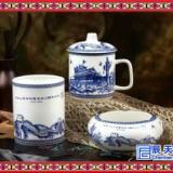 简约茶杯三件套特色礼品茶杯四件套 定做茶杯厂家