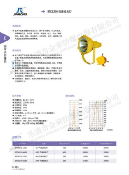 供应BTC8120防爆投光灯图片