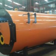 厂家直销10吨燃油燃气热水锅炉图片