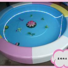 【蓝图游乐】夏季推荐海景水床 圆形水床 水床 给孩子一个凉爽的夏天图片
