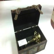复古奖杯木盒实木木盒喷漆木盒定做图片