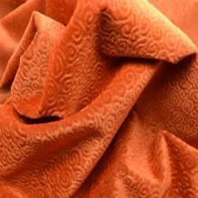 供应喷花植绒软包面料沙发布座椅布批发