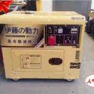 房车用5KW静音柴油发电机图片