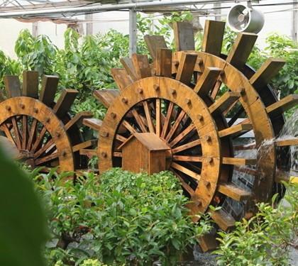 供应无锡防腐木水车设计,无锡防腐木水车制作,无锡防腐木水车安装