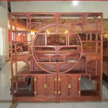 中式红木博古架多宝格/花梨木古董陈列架子/实木家具/明清古典家具