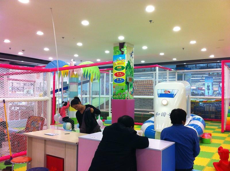 供应安徽省安庆市亲子乐园淘气堡设备图片