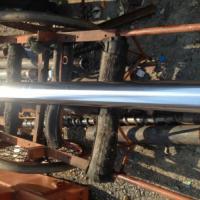 供应哥林柱拉杆加工定做40CR调质镀铬