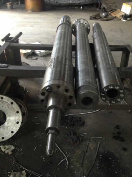 供应优质定做海天注塑机合金螺杆机,螺杆配件,料筒机筒定做厂家