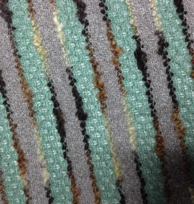 粗针提花针织花式呢图片/粗针提花针织花式呢样板图 (1)