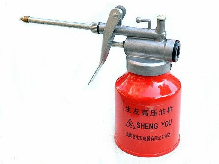 供应机油壶 200g 机油枪,高压机油壶,润滑注油瓶 手压加油器