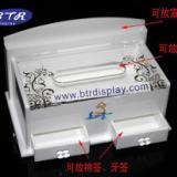 供应亚克力纸巾盒 有机玻璃抽纸盒 压克力收纳盒
