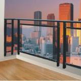 北京锌钢阳台栏杆,组装护窗围栏,玻璃阳台护栏,锌合金围栏款式多样