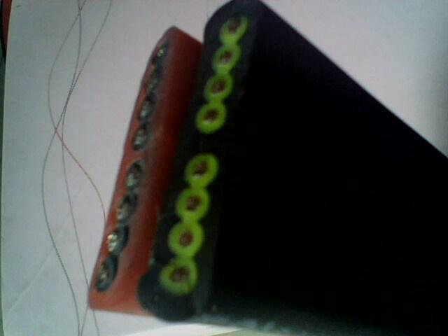 供应硅橡胶扁电缆产品说明图片
