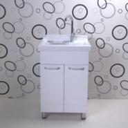 瓷单盆双开门洗衣柜图片