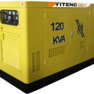 120kw静音式柴油发电机图片