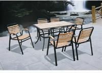 供应铁艺桌椅/bj-C602椅T806桌休闲桌椅